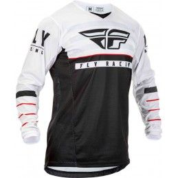 Maillot Fly - Kinetic K120 2020 - Enfant - Noir/Blanc/Rouge