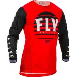 Maillot Fly - Kinetic K220 2020 - Enfant - Rouge/Noir/Blanc