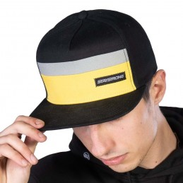 Casquette Stay Strong Block Snapback Black/Yellow Bmx Race