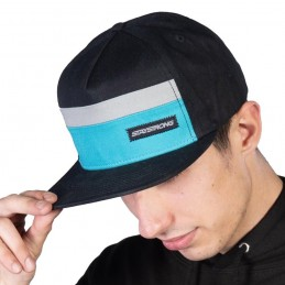 Casquette Stay Strong Block Snapback Black/Teal Bmx Race