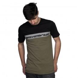 T-Shirt Staystrong Cut Off Black/Green Bmx Race