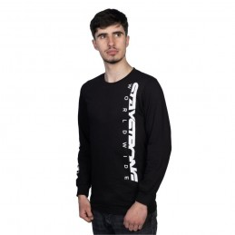 T-Shirt L/S Staystrong Icon Worldwide Black Bmx Race