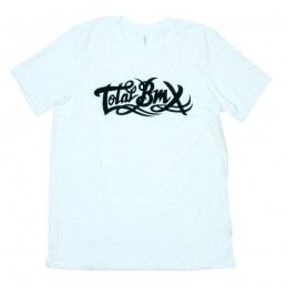 T-Shirt Total Bmx Original Logo White Bmx Race