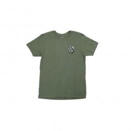 T-Shirt Odyssey Ripped Monogram Olive Bmx Race