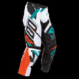 Pantalon Shot Contact Raceway Orange/Mint Bmx Race