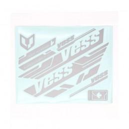 Stickers Yess Kit Cadre Grey Bmx Race