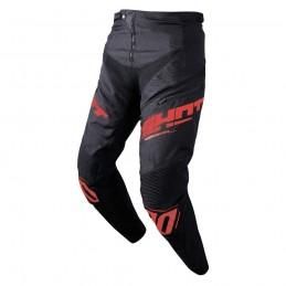 Pantalon Shot Rogue Black/Red Kid Bmx Race