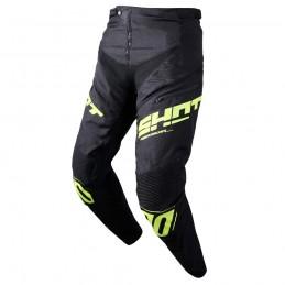 Pantalon Shot Rogue Black/Neon Yellow Adulte Bmx Race