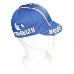 Casquette Velo Equipe Vintage Brooklin Blue
