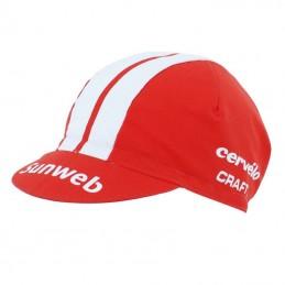 Casquette Velo Equipe Pro Sunweb Rouge