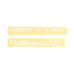 Stickers Pride Racing Flowmotion Bmx Race