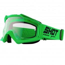 Masque Shot Assault Neon Green Bmx Race