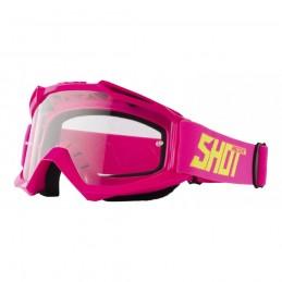Masque Shot Assault Neon Pink Bmx Race