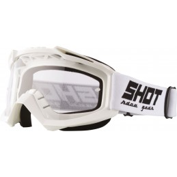 Masque Shot Assault Blanc Bmx Race