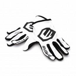 Gants Evolve Send It White/Black Bmx Race