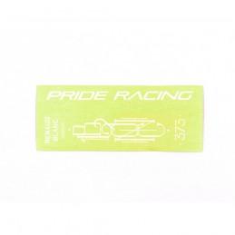 Sticker Full Pack Pride Racing 373 - 7?/ 7.5? - White Bmx Race