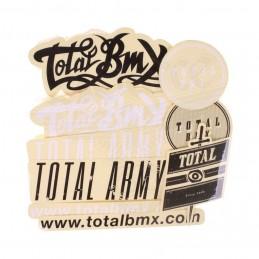 Kit Stickers Total Mix Pack Bmx Race