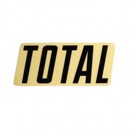 Sticker Total New Style Logo Black Bmx Race