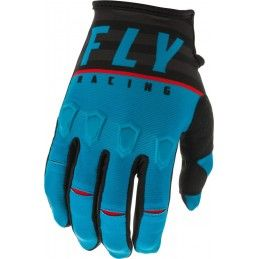 Gants Fly - Kinetic K120 2020 - Enfant - Bleu/Noir/Rouge