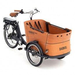 Vélo cargo électrique Babboe - Curve-E Bmx Race