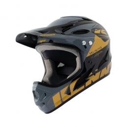 Casque Kenny Downhill Black Gold Bmx Race