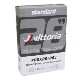 Chambre A Air Vélo 700x23-28 Vittoria Lite Valve Presta 60mm Bmx Race