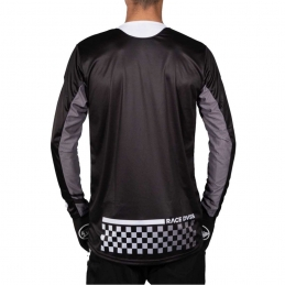 Maillot StayStrong Checker Black Bmx Race