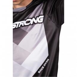 Maillot StayStrong Chevron Black Bmx Race