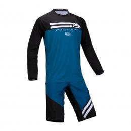 Maillot Kenny Factory Enfant Bleu 2021 Bmx Race