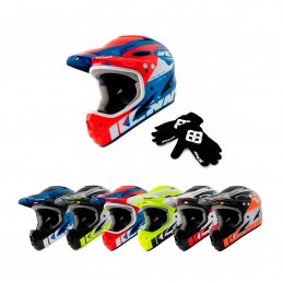 Pack rentrée débutant BMX Race casque + gants