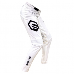 Pantalon Evolve Send It White/Black Adulte Bmx Race