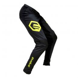 Pantalon Evolve Send It Black/Neon Yellow Kid Bmx Race