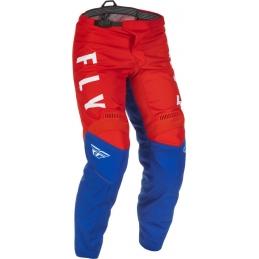 Pantalon Fly F-16 Rouge/Blanc/Bleu Bmx Race
