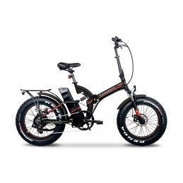 Vélo électrique - Pliant - Bi Max - Noir et rouge