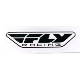 Sticker Fly Racing - Noir sur blanc