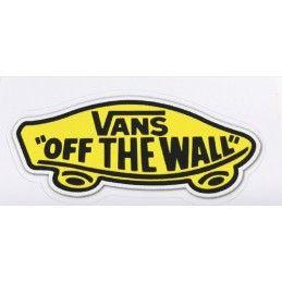Sticker Vans ''Off the wall''