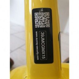 Etiquette d'identification Antivol vélo AUVRAY avec QR CODE (OBLIGATOIRE A PARTIR DU 01/01/2021)