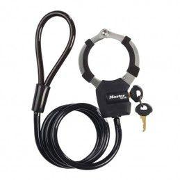 Antivol câble à boucle avec menotte Masterlock