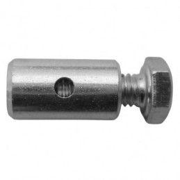 Serre câble de frein tambour Algi - D.7 x LG.12.5 - Trou 2.2mm