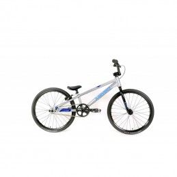 BMX Meybo Clipper Grey/Blue/Cyan - Mini 2021 Bmx Race