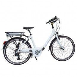 Vélo électrique Wheelyoo WY 120 - Blanc - Moteur arrière 300W Bmx Race
