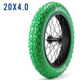 Pneu Fatbike - 20x4 - Vert Bmx Race