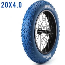Pneu Fatbike - 20x4 - Bleu Bmx Race