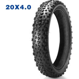Pneu Fatbike - 20x4 - Noir Bmx Race