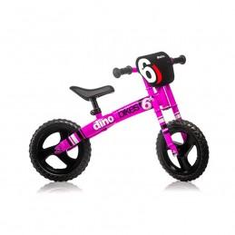 "Vélo Sans Pédale ""Draisienne"" - Dino Bike - Rose Fushia Fluo Bmx Race"
