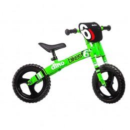 """Vélo Sans Pédale """"Draisienne"""" - Dino Bike - Vert Fluo Bmx Race"""