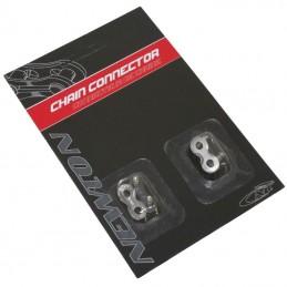 Connecteur De Chaine Velo  1-3 vitesses Newton Compatible Sram  (Attache Rapide) (Blister De 2 Pieces)