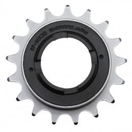 """Roue Libre 1 vitesses  P2R 16 dents Bronze (Pour Chaine 3.30 - 1-2""""X1-8"""" City-Bmx)"""
