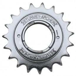 """Roue Libre 1 vitesses  Sunrace 17 dents Argent Chaine 3.30 - 1-2""""X1-8"""""""