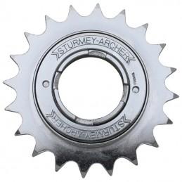 """Roue Libre 1 vitesses  Sunrace 18 dents Argent Chaine 3.30 - 1-2""""X1-8"""""""